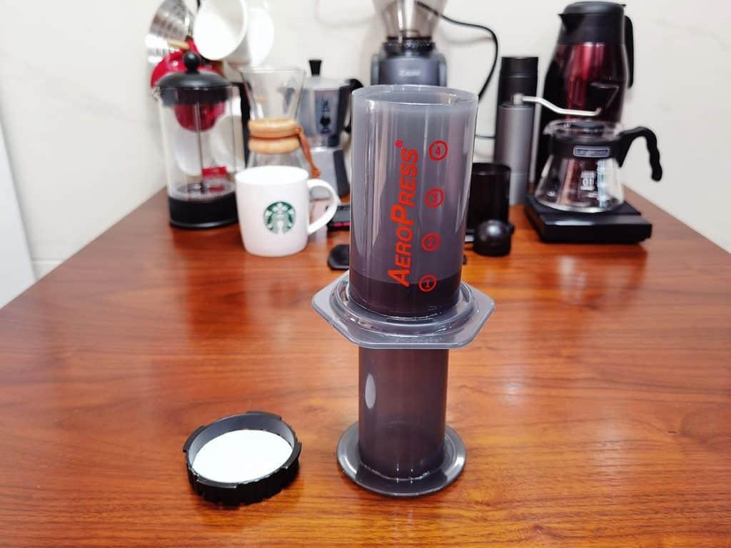make espresso with an aeropress