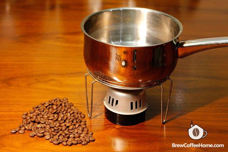 make cowboy coffee at home