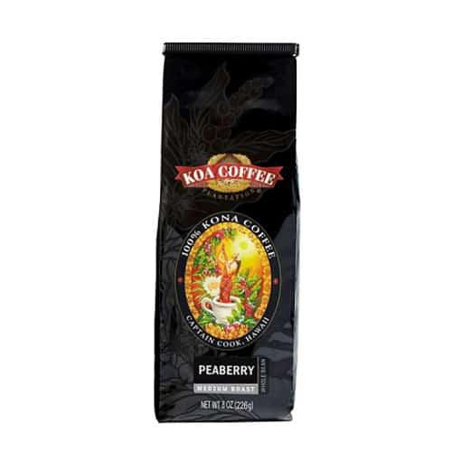 kona peaberry coffee