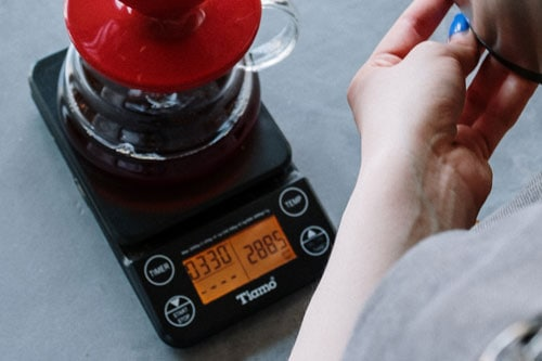 weighing-pour-over
