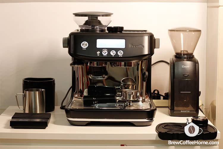 Barista Pro on the table