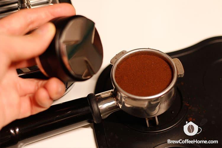 coffee grounds distributor