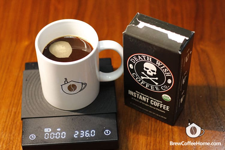 death wish instant coffee