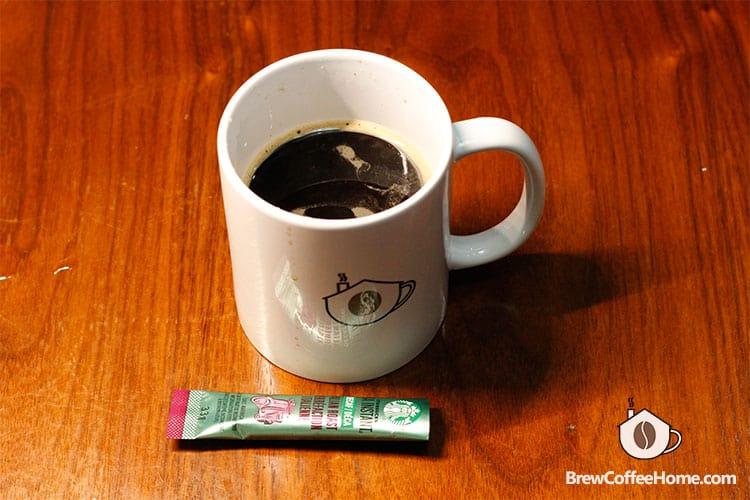 Starbucks VIA Instant Decaf Coffee Packets Italian Roast