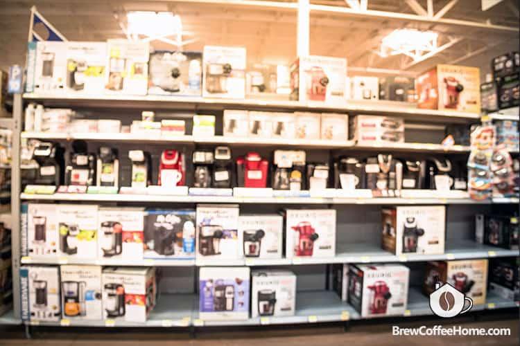 coffee-makers-on-shelf