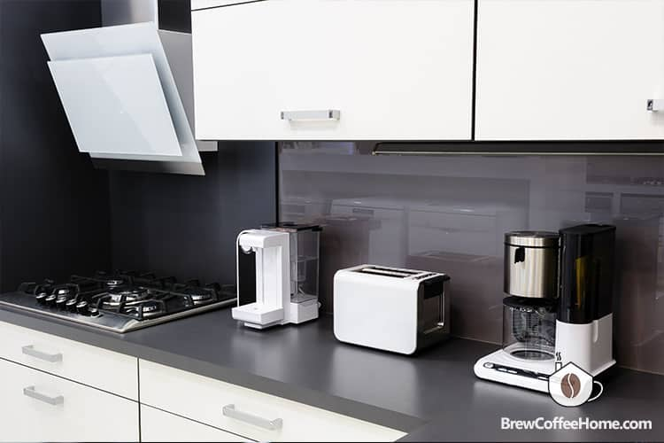 countertop-space-for-coffee-maker