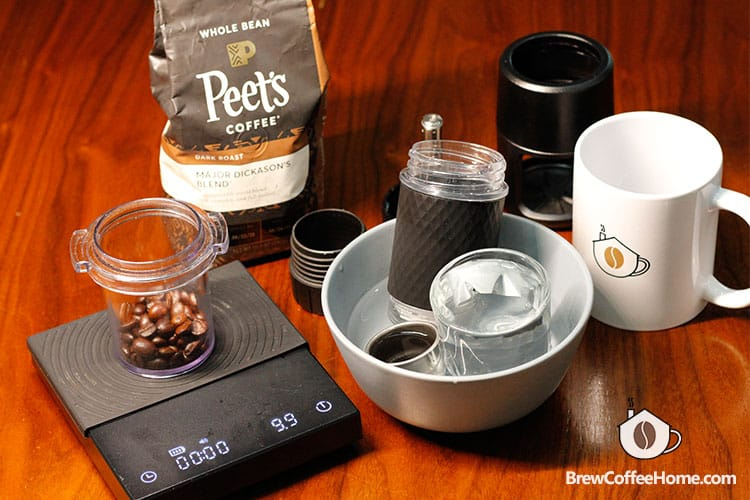 preheat staresso coffee maker