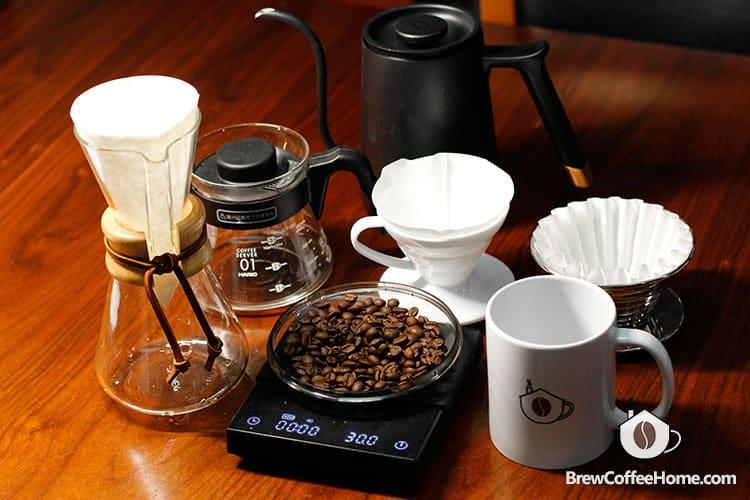 japanese-iced-coffee-chemex-v60