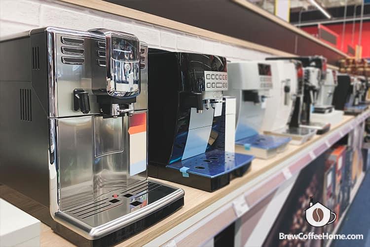 new-espresso-machines-on-shelf