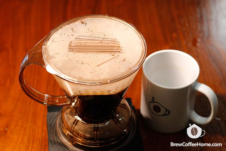 steep-coffee-in-clever-dripper