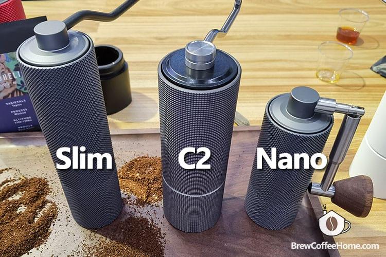 timemore-chestnut-c2-vs-nano-vs-slim