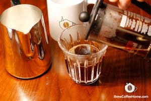 Add-half-brewed-coffee-Cafe-Au-Lait
